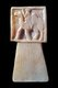 Yemen: An alabaster incense burner featuring a bas-relief of a camel and rider, Shabwa, 3rd century CE